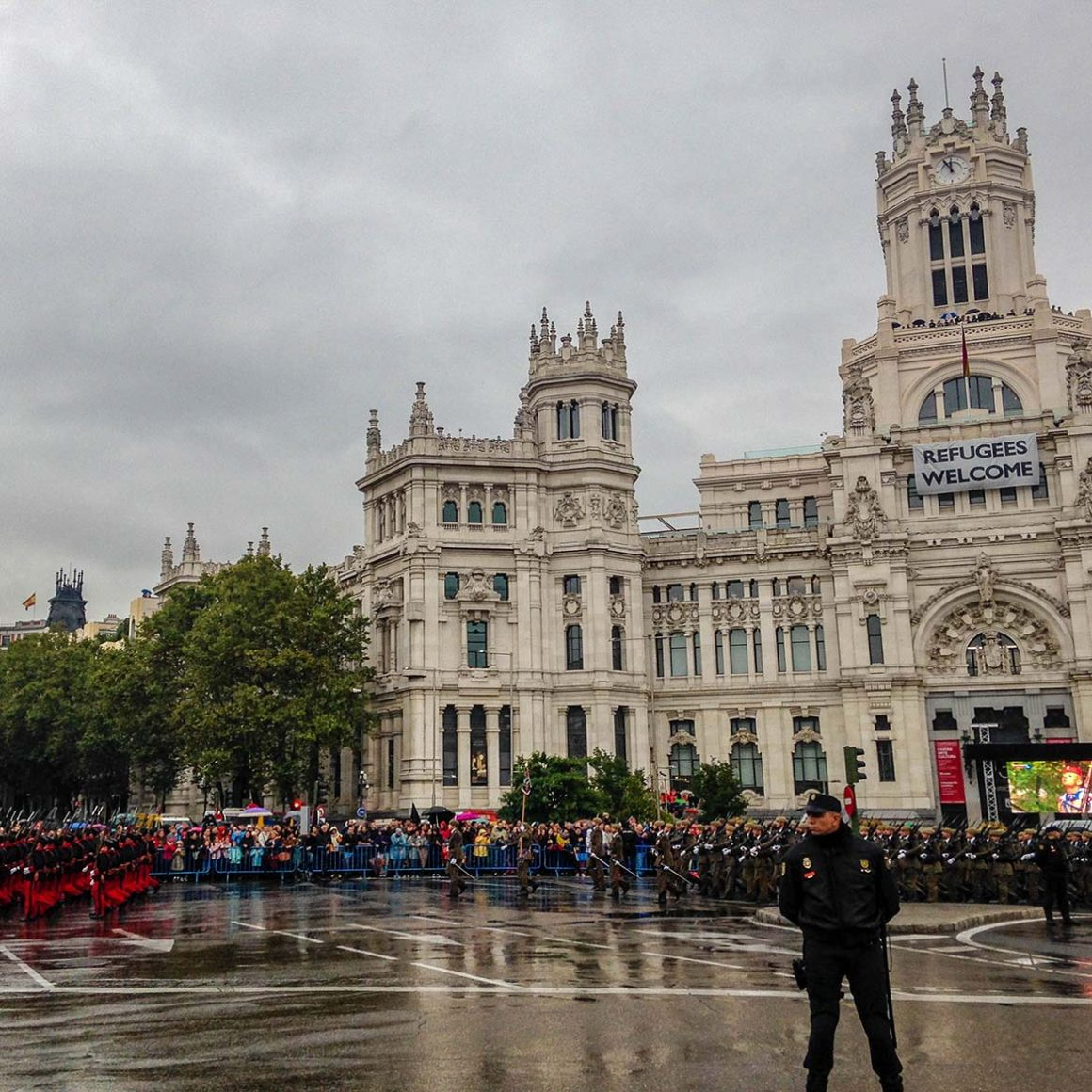 National Day in Madrid