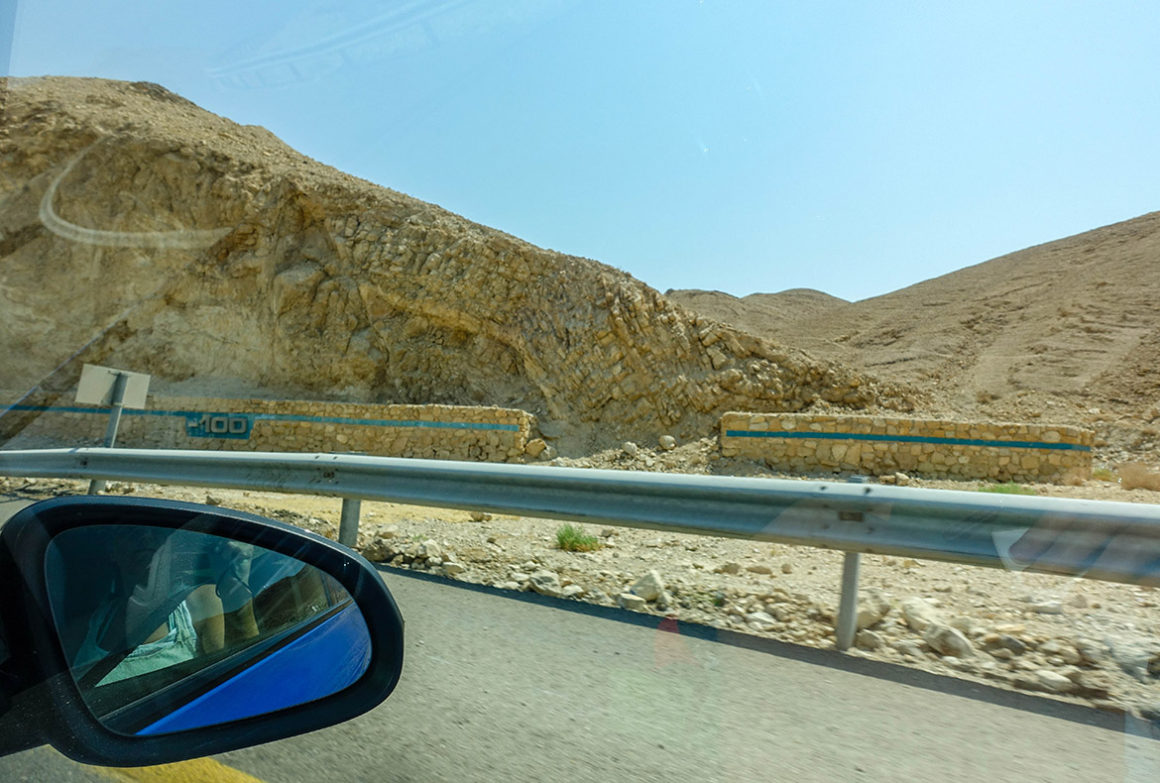 below sea level_road trip to dead sea