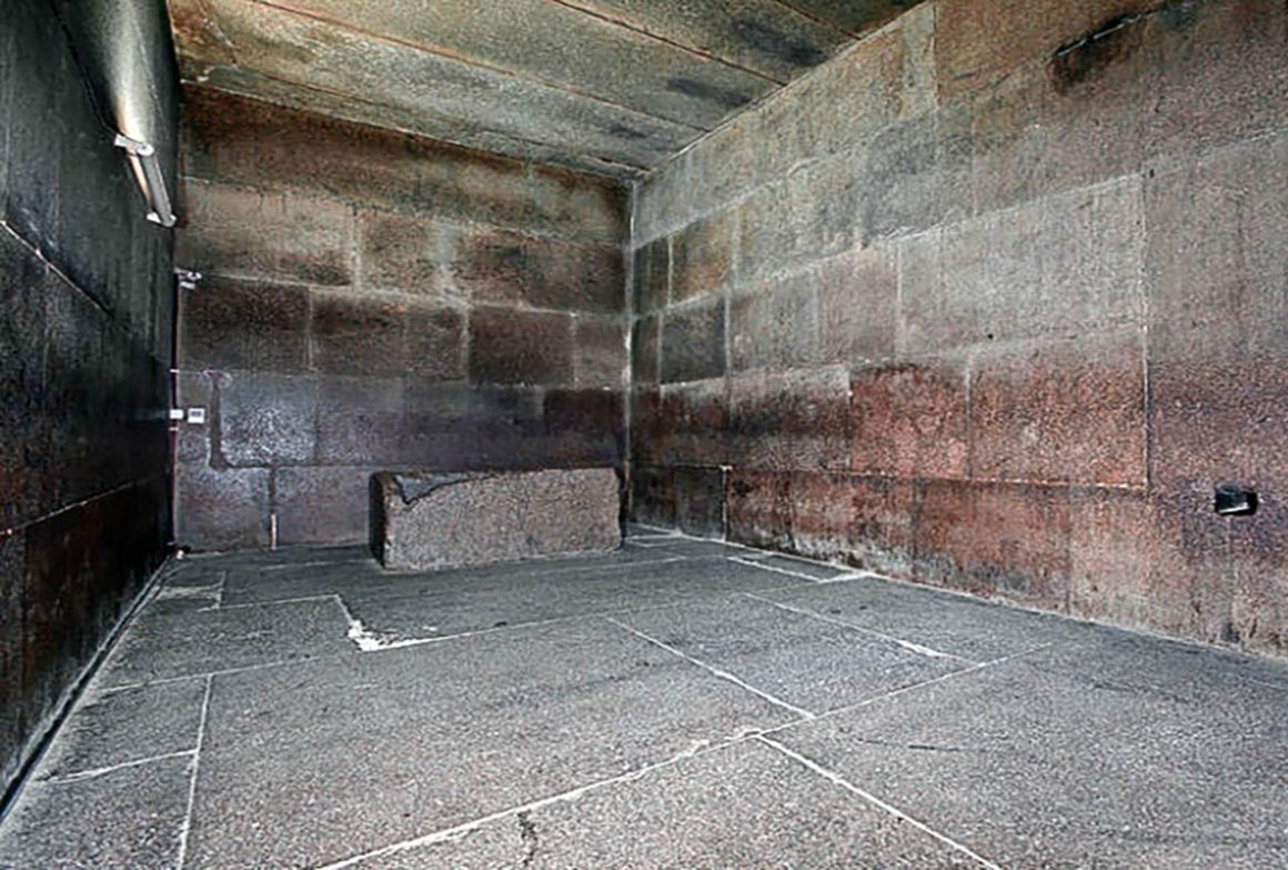 Inside the tomb of an ancient Egyptian pharaoh named Khufu