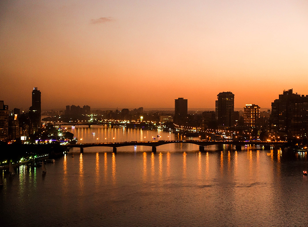world famous Nile River.