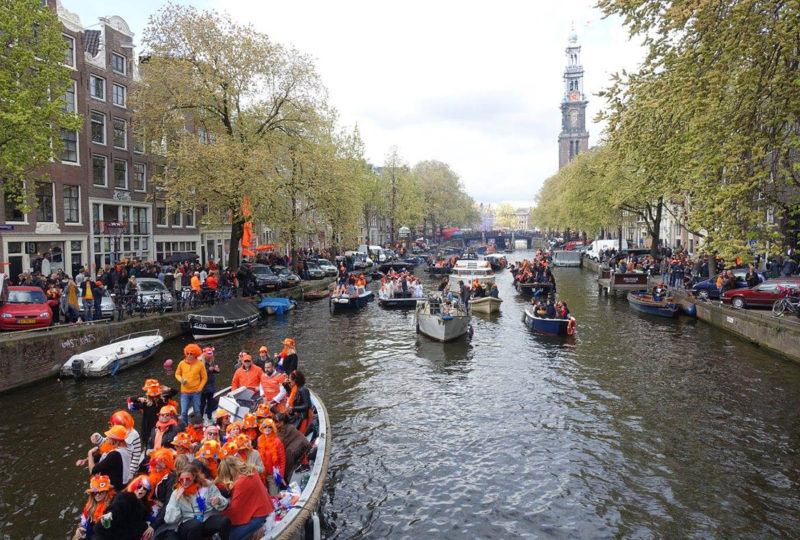 Amsterdam: King's Day, Citywide Street Party