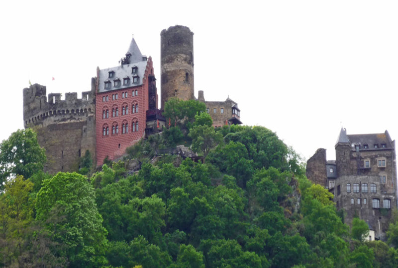 Germany: Sleep in a Castle in Oberwesel