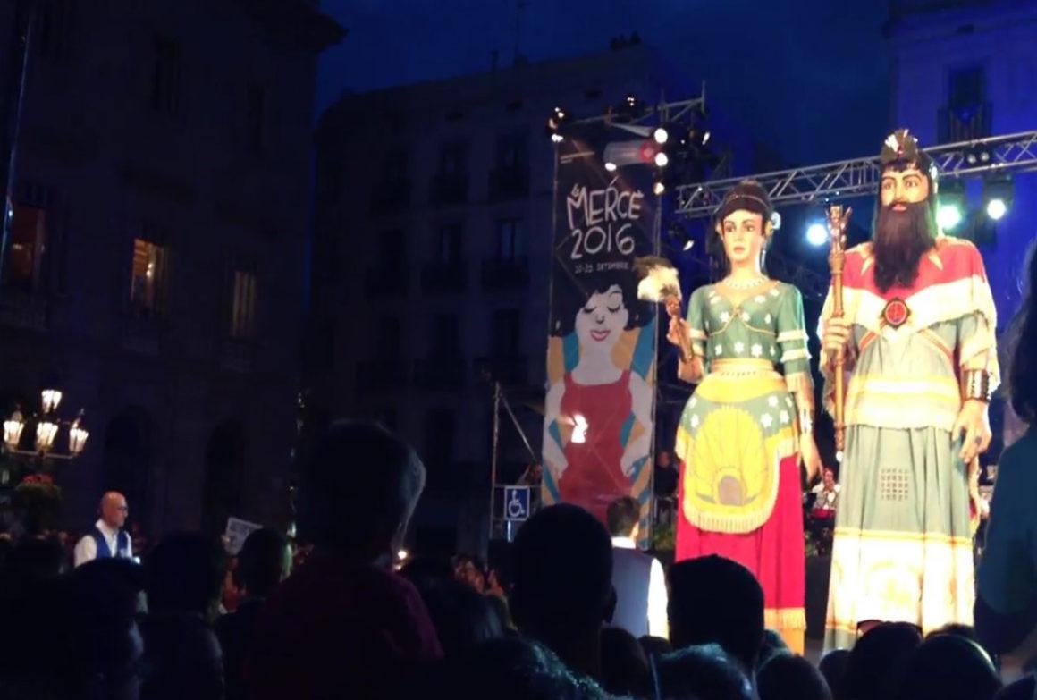 Barcelona's Giants at Le Merce Festival