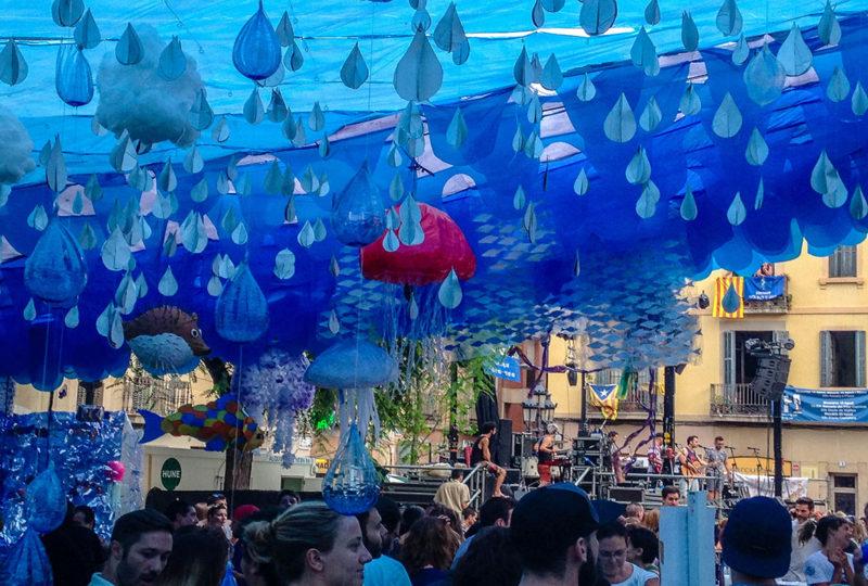 Barcelona: Gracia Neighborhood Festival