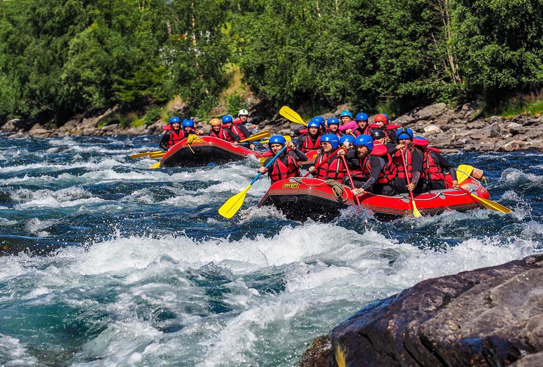 River Rafting in Norway