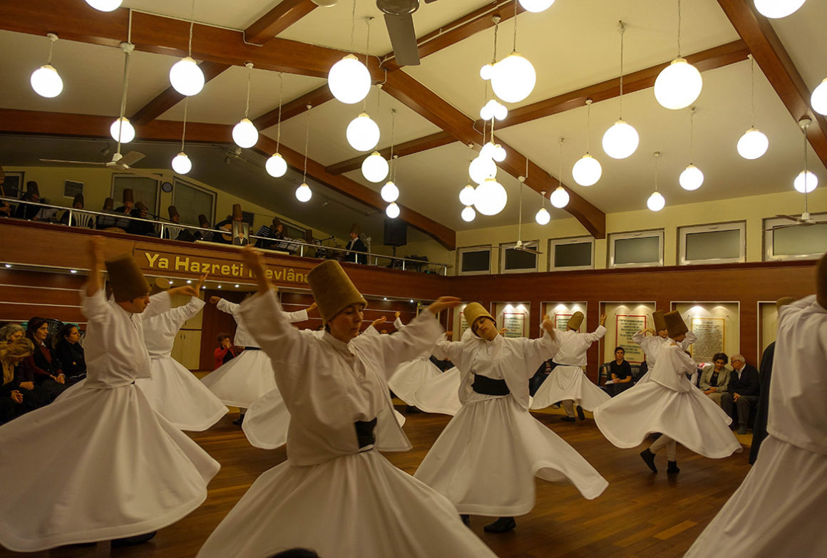 Cultural Experiences-Whirling Dervish in Turkey