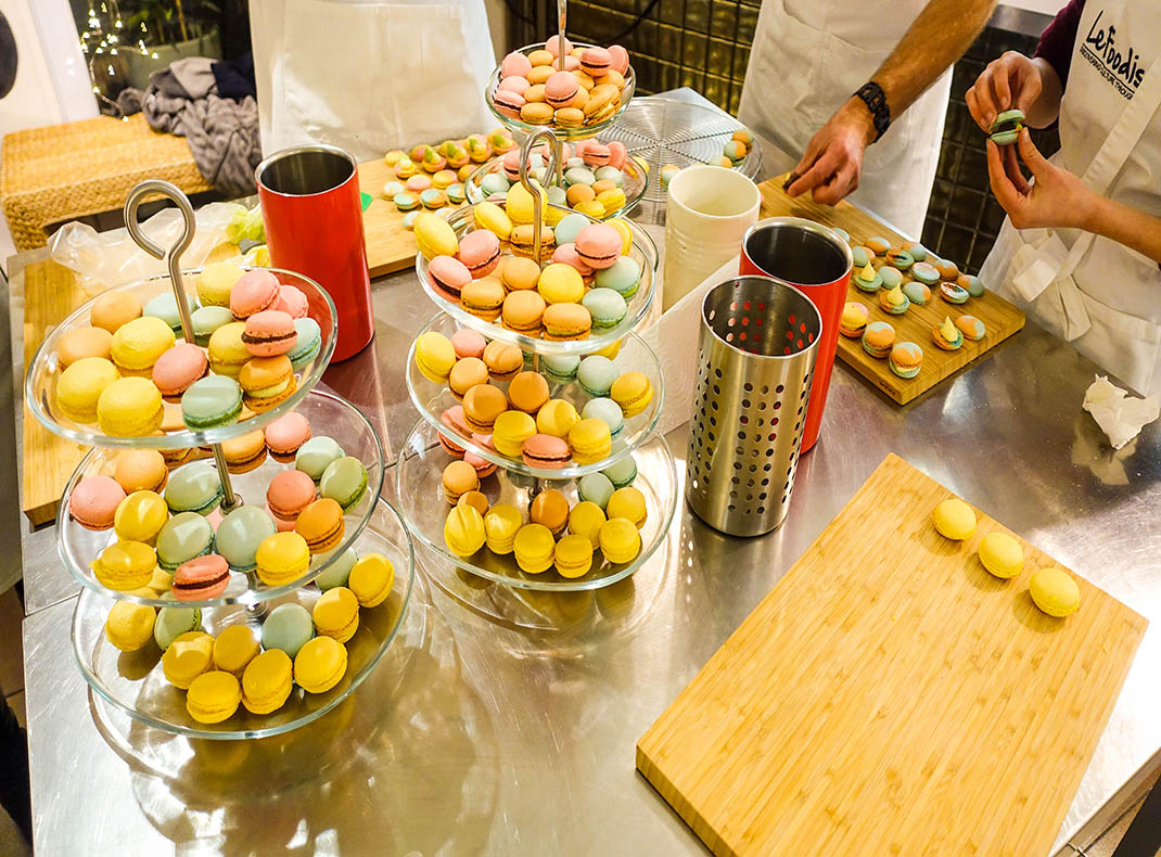 Learned the Art of Making Macarons in Paris