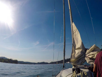 Sailing on Lake Lucerne