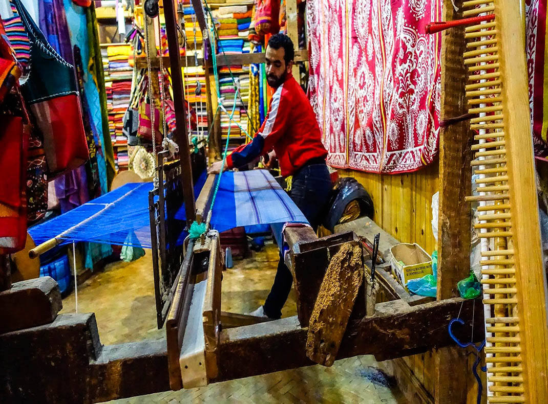 Loom in Fes, Morocco