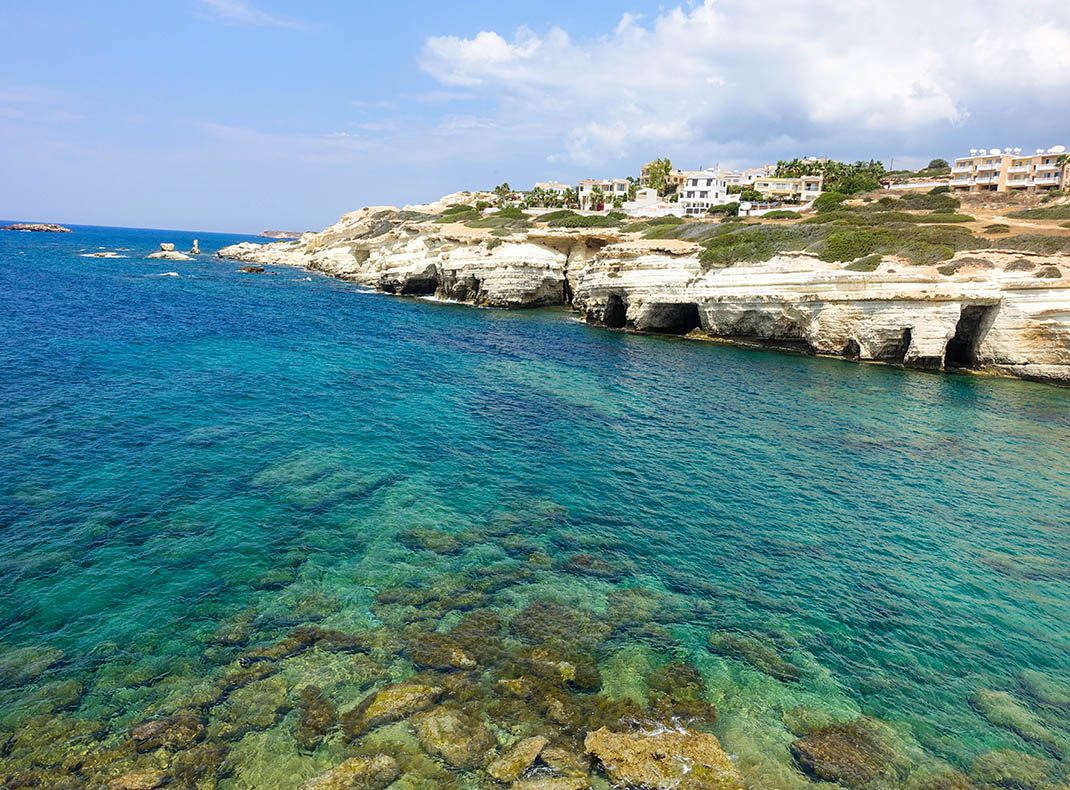 The crystal clear water, Cyprus
