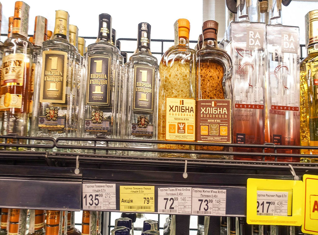 vodka-selection-at-the-local-market-in-Kiev-Ukraine