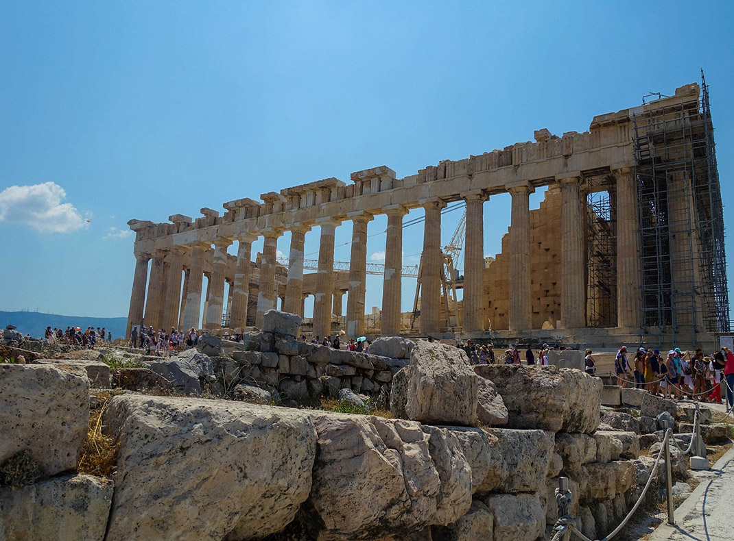 The-Parthenon-in-Athens-Greece